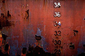 Gehavende scheepswand von Linda Raaphorst
