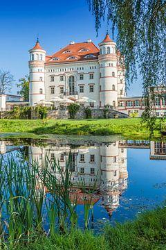 Wojanów Palace near Jelenia Góra van