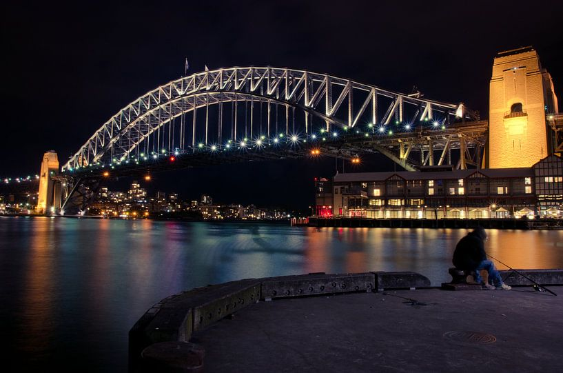 Sydney Harbour Bridge van Sven Wildschut