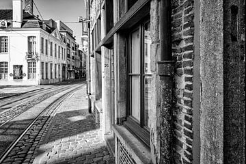 Een straat in Gent(B) van Don Fonzarelli
