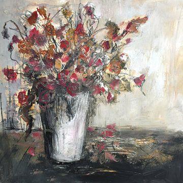 Blumen in einer Vase von Christin Lamade