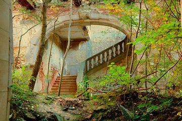 the old stairs von Peet de Mos
