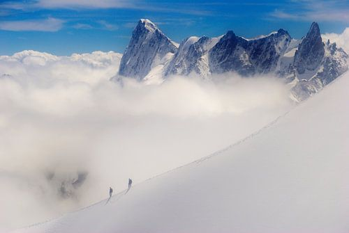 Bergbeklimmers van Mark Bolijn