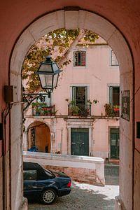 Straten van Lissabon   reisfotografie Portugal van Anne Verhees