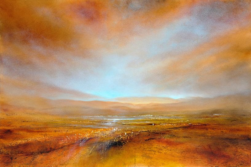 Herfst licht van Annette Schmucker