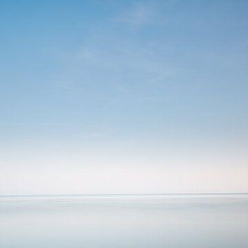Pastellblau von Steven Massart