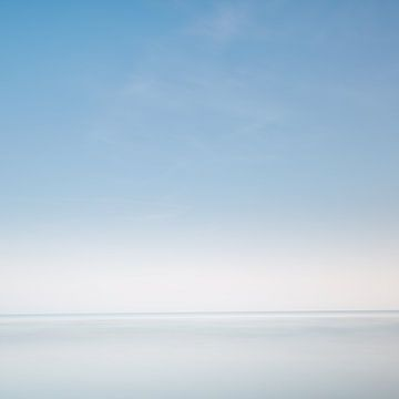 Pastelblauw van Steven Massart