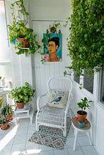 Kundenfoto: The Garden of Frida – Blue Edition von Marja van den Hurk, auf leinwand
