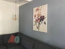 Kundenfoto: Ein Blumenstrauß, Henriëtte Geertruida Knip von Meesterlijcke Meesters, auf leinwand