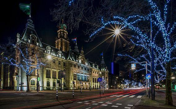 Het Stadhuis van Rotterdam van MS Fotografie