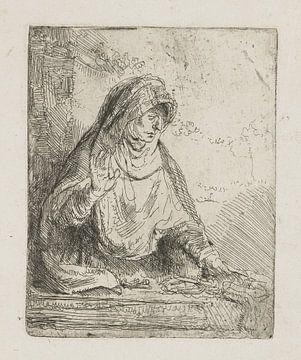 Die Jungfrau Maria mit den Werkzeugen der Leidenschaft, Rembrandt van Rijn