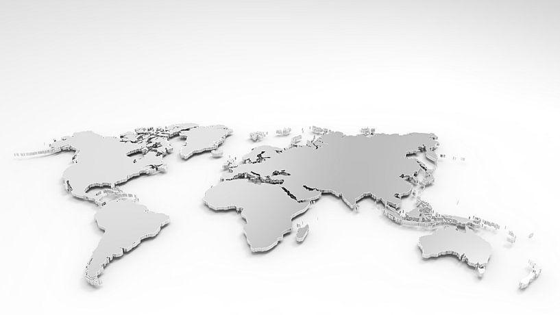 3D Wereldkaart van World Maps