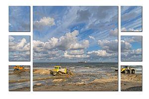 7-luik van een kustversterkingsproject in Noord-Holland