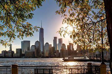 Sonnenaufgang  in New York sur Kurt Krause