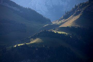 Licht in den Bergen van