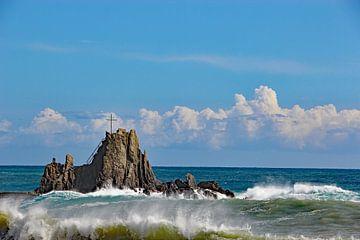Ligurische Zee, Sestri Levante van Wilma Overwijn