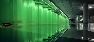 Reflection on Green sur Martijn van Dellen
