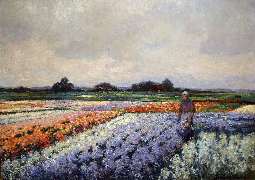 Deutsche Grobe~Blumenfelder von finemasterpiece