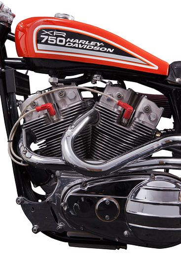 Harley-Davidson XR-750 van Michelle Peeters
