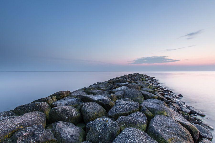 Golfbreker IJsselmeer van Bert Nijholt