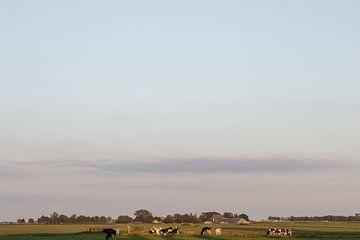 Land en lucht van Age Meijer