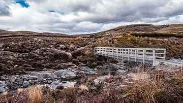 Landschaft mit Brücke von YesItsRobin