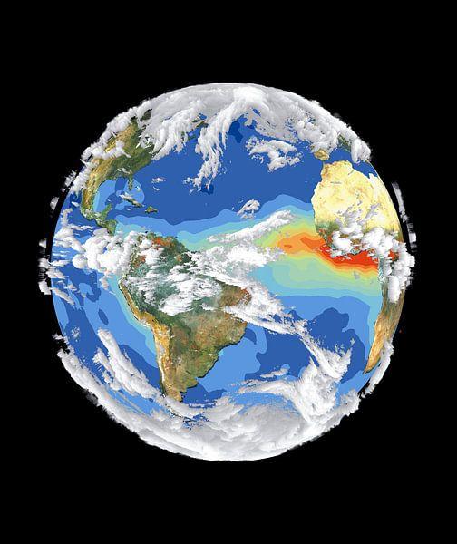 De Aarde en Het Klimaat van Digital Universe