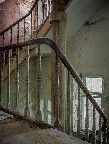 Escalier de service van