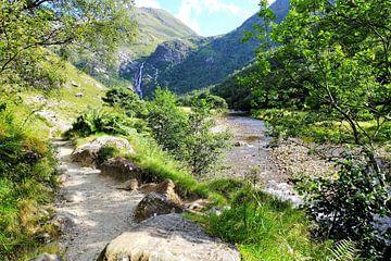 Schotland, de dalen en bergen bij Ben Nevis von Marian Klerx