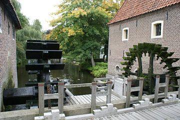 Watermolen de Stenentafel bij Borculo van Klaas Leguit