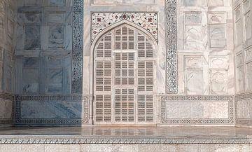 Agra: Taj Mahal van