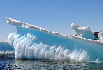 IJsberg, Iceberg, Groenland, Greenland van