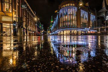Den Haag bei Nacht von Kevin Coellen