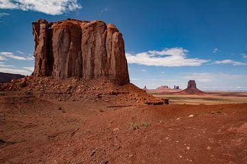 Monument Valley Tribal park, Arizona, Amerika. van Gert Hilbink