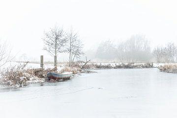 winters landschap von Bertrik Hakvoort