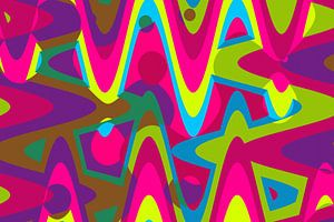 Abstrakt-Pop Art