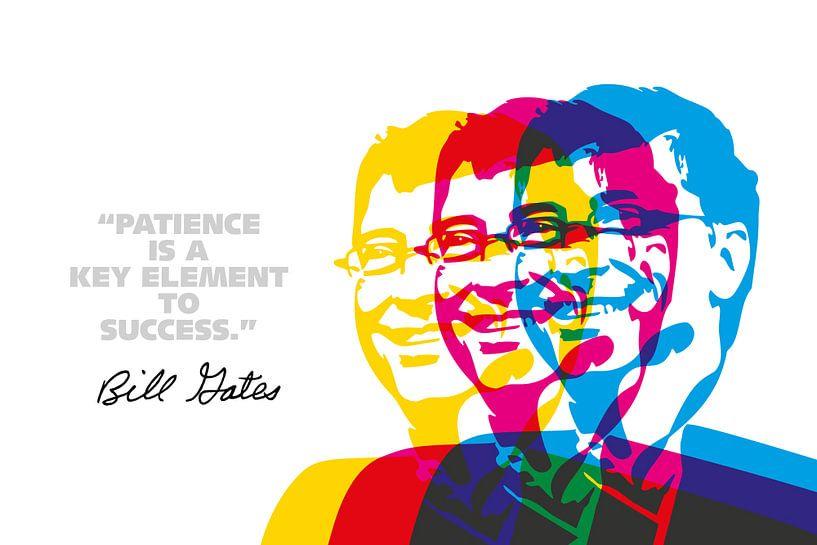 Bill Gates Quote van Harry Hadders