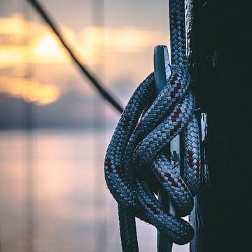Knoop in een mast van Milad Hussin