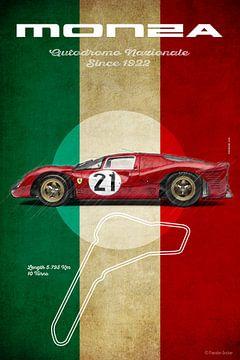 Monza Vintage P4 von Theodor Decker