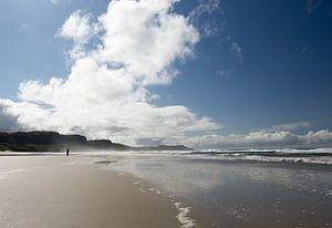 Strand auf der Insel von Femke Klaver