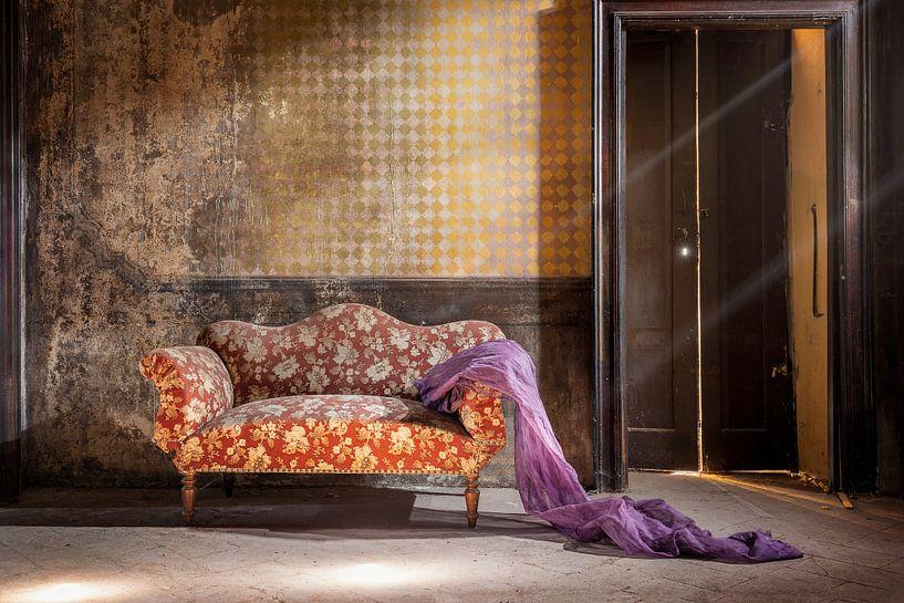 sierlijke sofa van Kristof Ven