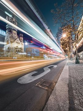 Berlijnse stadslichten van Sven Hilscher