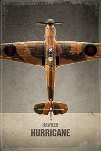 Hawker Hurricane - oiseau de guerre - avion