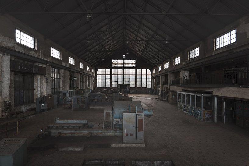 Machineruimte van Perry Wiertz