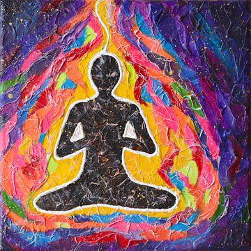 Meditation von Lida Bruinen