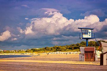 Wolken über Ahlbeck | Wolken boven Ahlbeck von Dieter Ludorf
