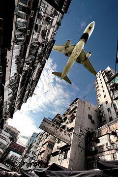 Hongkong Kai Tak-Ansatz von Jeffrey Schaefer