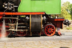 Detail einer Dampflok van