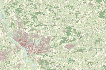 Kaart vanDeurne