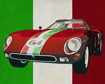 Ferrari 250 GTO uit 1964 het buitenbeentje van Ferrari